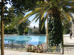 "View of the inviting Bagh-e-Eram (""Eram Garden""). This is the most famous Persian garden in Shiraz"