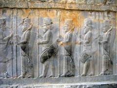 Apadana staircase reliefs, Persepolis