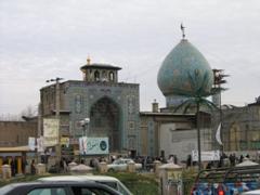 Street side Mosque, Tehran