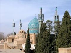 Beautiful Shah Nematollah Vali Mausoleum, Mahan