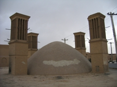 Wind towers, Yazd