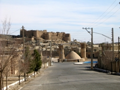 The well preserved city of Naein is world famous for its rugs