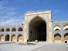 Massive portal for a Medrassa; Isfahan