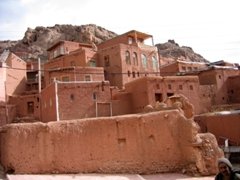 The UNESCO village of Abyaneh is renowned for its red hue, and it is one of Iran's oldest villages