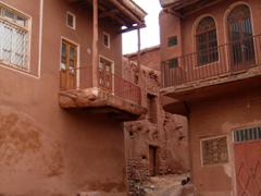 Typical houses in the traditional village of Abyaneh