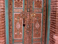 Decorative door, Abyaneh