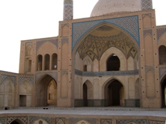 The late 18th Century Agha Bozorg Mosque