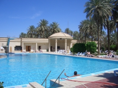Swimming pool at the Republican Palace; Baghdad