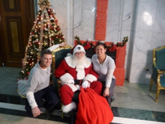 Robby & Becky get a visit from Santa; Baghdad