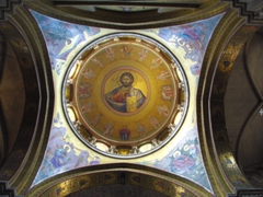 Dome inside the Church of the Holy Sepulchre