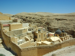 The picturesque Greek Orthodox Monastery of Mar Saba