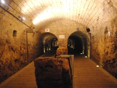 Another view of Templar Tunnel, where we scrambled all the way to the Akko Port