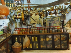 A spice shop on Market Street, which runs from north to south of Old Akko. There are many such interesting stores with fresh fruit, fish, spices and perfumes hawked daily