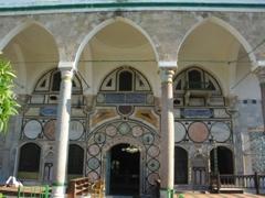 Entrance to Al-Jazzar Mosque in Akko