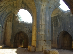 "Interior of the ""Beautiful Tower""; Nimrod Fortress"