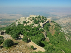 Nimrod Castle is one of Israel's best preserved Crusader Castles, as it appears in a fairy-tale setting atop Mount Hermon
