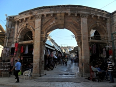 Old Jerusalem is a living, working holy city with pilgrims, tourists and locals all getting about their daily lives