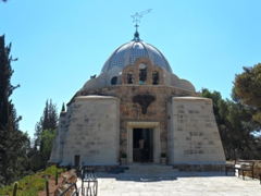 This church at Beit Sahour is located at the Shepherds' Fields, where the shepherds who visited baby Jesus in his manger tended to their flocks