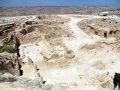 Ruins of Herodion, one of Herod the Great's most ambitious projects (an all in one fortress-summer palace-district capital and burial ground)