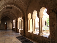 Corridor of the Franciscan Church of St Catherine, which is adjoined to the Church of the Nativity on Manger Square; Bethlehem