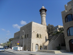 View of the Sea Mosque of Old Jaffa