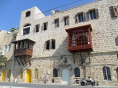Sea wall houses of Old Jaffa