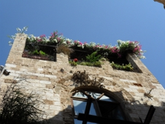 Jaffa's old city is a delight to wander through with its cobblestoned labyrinth streets and pretty houses