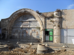 A portion of the Mahmudiya Mosque, Old Jaffa