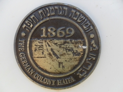 Haifa's German Colony was established in 1869 by the Templar Society, which believed in the imminent arrival of the Messiah