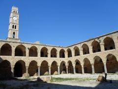 The Khan al-Umdan (Inn of the Pillars) once served as a majestic, port side caravanserai that served dozens of camel trains; Old Akko