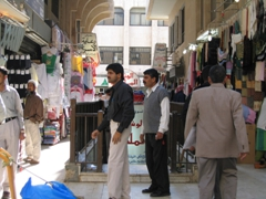 If you are expecting souks from the Arabian nights, guess again! The downtown souks are quite modern