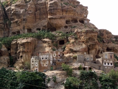 Mountain cliff homes, Shibam