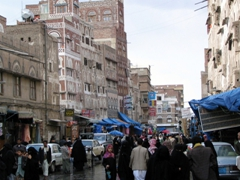 The streets of Sana'a are a joy to explore