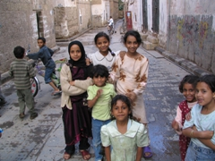 We were amazed that the children of Sana'a were so eager to have their photos taken