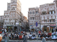 Visiting pretty Sana'a is like stepping into a scene from 1001 Arabian Nights