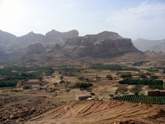 Agricultural area in the Wadi near Marib