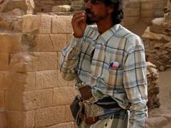 Our unique Temple of Bilqis guide, Marib