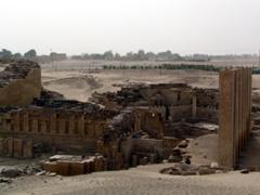 Ruins of the Temple of Bilqis, Marib