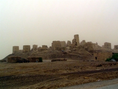 View of the ruins of Old Marib, which is believed to be the ancient city of Sheba
