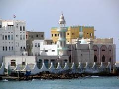Mukalla coastal mosque