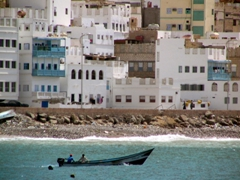 Fishermen checking their traps, Mukalla