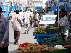 Thursday street market, Mukalla