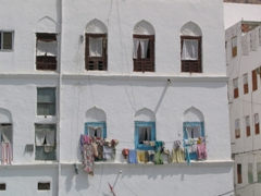 Typical house in the old city, Mukalla