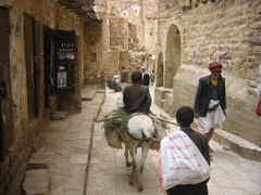 Typical street scene in old Thula