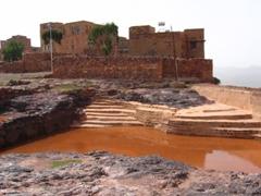 Muddy cistern in Kawkaban