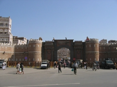 The best starting point for a Sana'a city tour, Bab al Yemen
