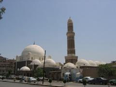 The incredible Qubbat al-Bakiriya Mosque, Sana'a