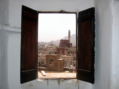 View from our window: the city that inspired 1001 Arabian Nights, incredible Sana'a
