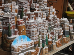 Miniature display of Sana'a's beautiful houses