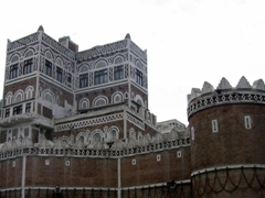 Old city wall at Bab al Yemen, Sana'a